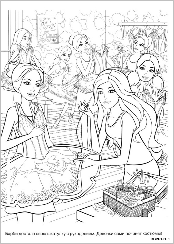 86 Coloring Pages Of Barbie Life In The Dreamhouse