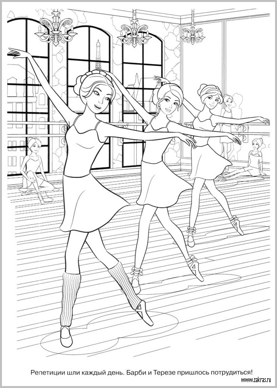 Barbie in the pink shoes barbie movies photo 33622788 for Barbie and the pink shoes coloring pages