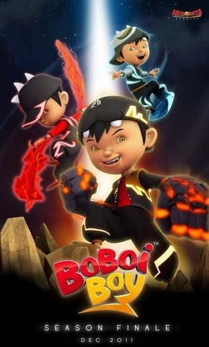 boboiboy wallpaper possibly containing anime titled boboiboy