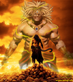 broly ssj - dragon-ball-z photo