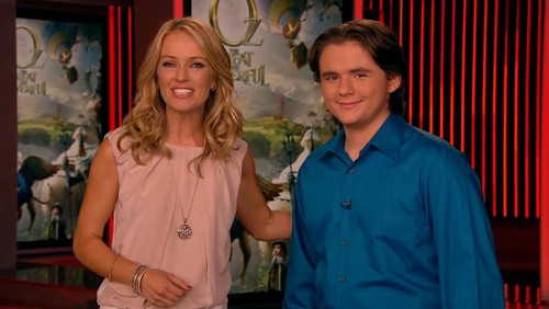 brooke anderson and prince jackson on ETonline 18th feburary 2013