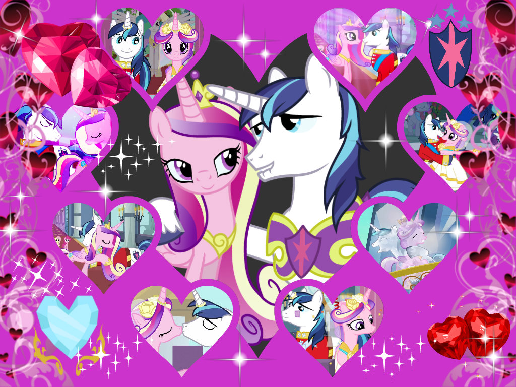 My Little Pony Friendship is Magic cadence and shining armor