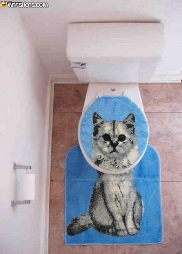 cat toilet assento cover