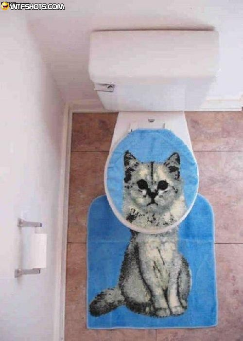 Cat Toilet Seat Cover Toilet Seat Cover Photo 33676514