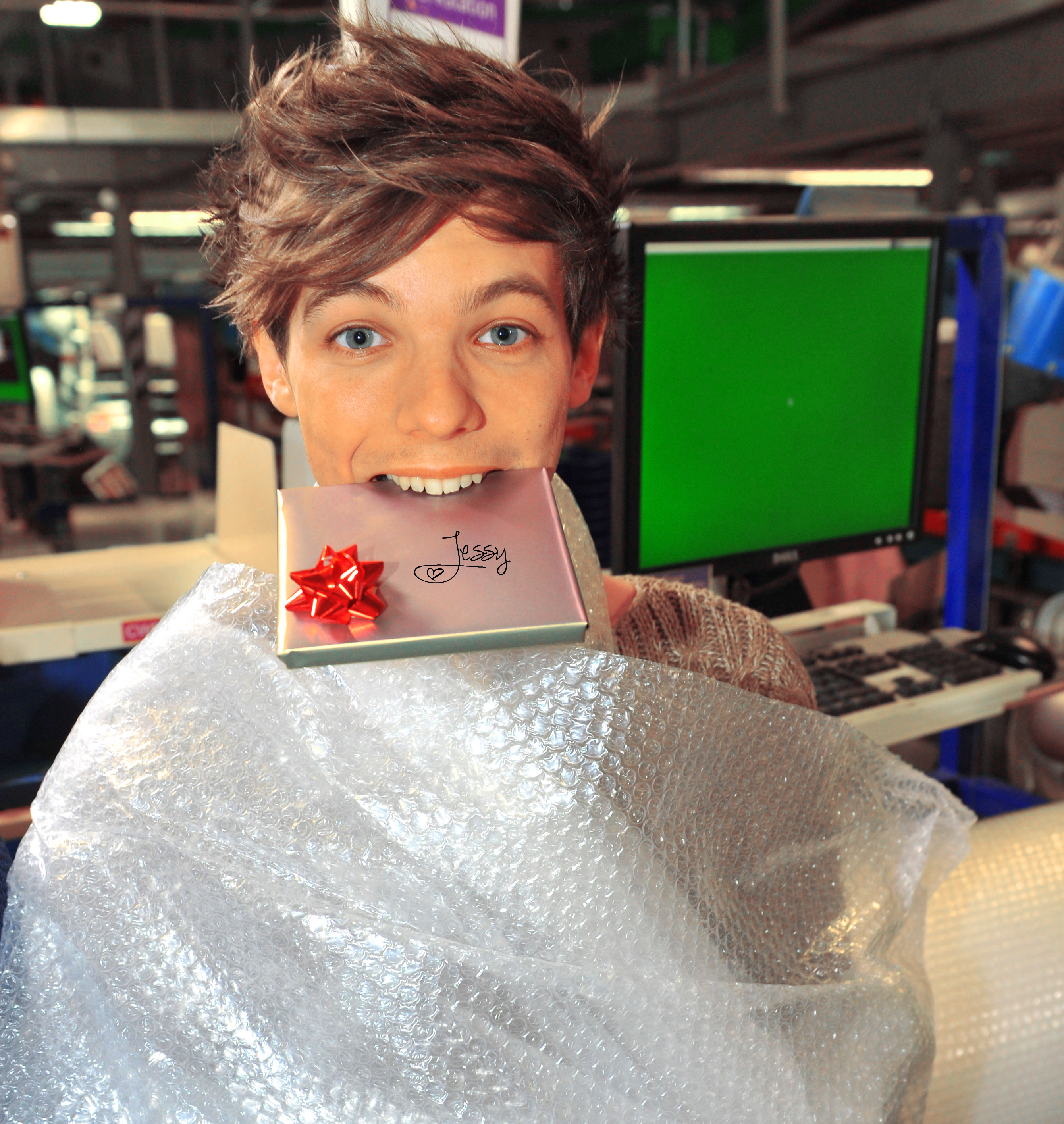 Louis Tomlinson christmas prezzies