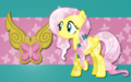 crystal fluttershy - my-little-pony-friendship-is-magic wallpaper