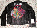 danielle vergne artwork on Slash leather jacket - slash fan art