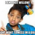 diva willow wow  - willow-smith fan art