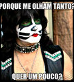 eric singer meme - kiss fan art