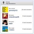 fanpop Top Answerers - fanpop photo