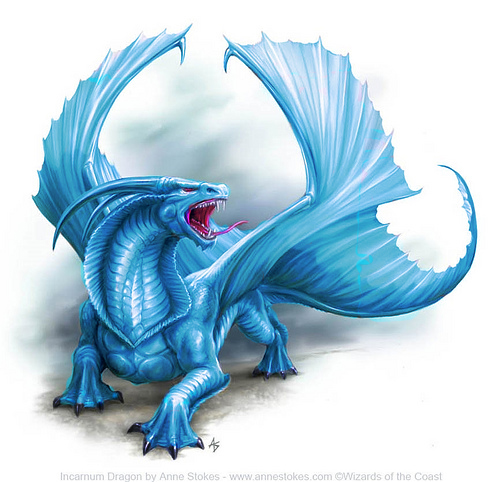 Фэнтези water dragon