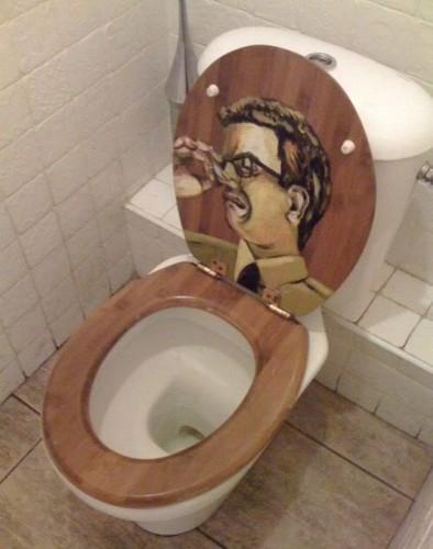 funny toilet assento