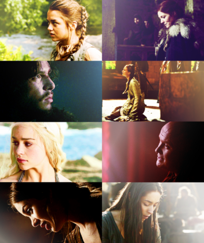 Game of Thrones + Profiles