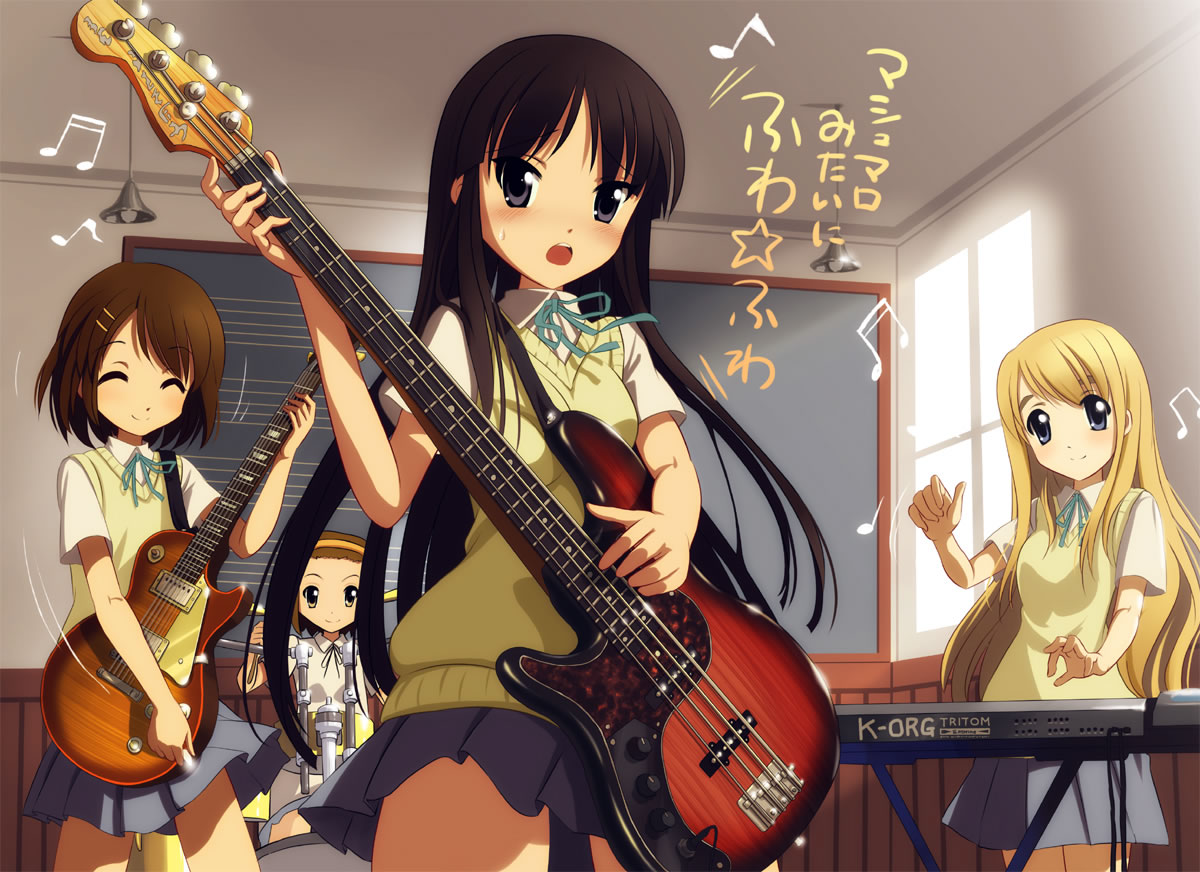 Msyugioh123 Images Guitar Anime Girl HD Wallpaper And Background Photos
