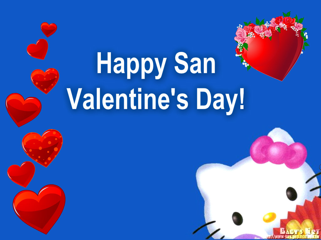 Hello Kitty Images Happy San Valentine S Day Hd Wallpaper And