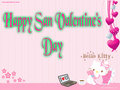 hello kitty san valentine - hello-kitty fan art