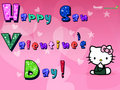 hello kitty san valentine's day - hello-kitty fan art