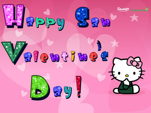 hello kitty san valentine's araw