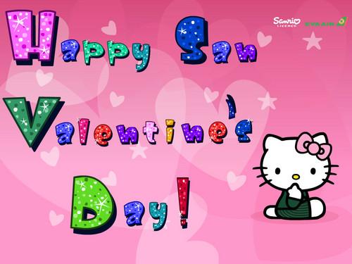 hello kitty san valentine's دن