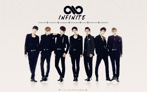 INFINITE Wallpaper Containing A Business Suit Well Dressed Person And Full Dress