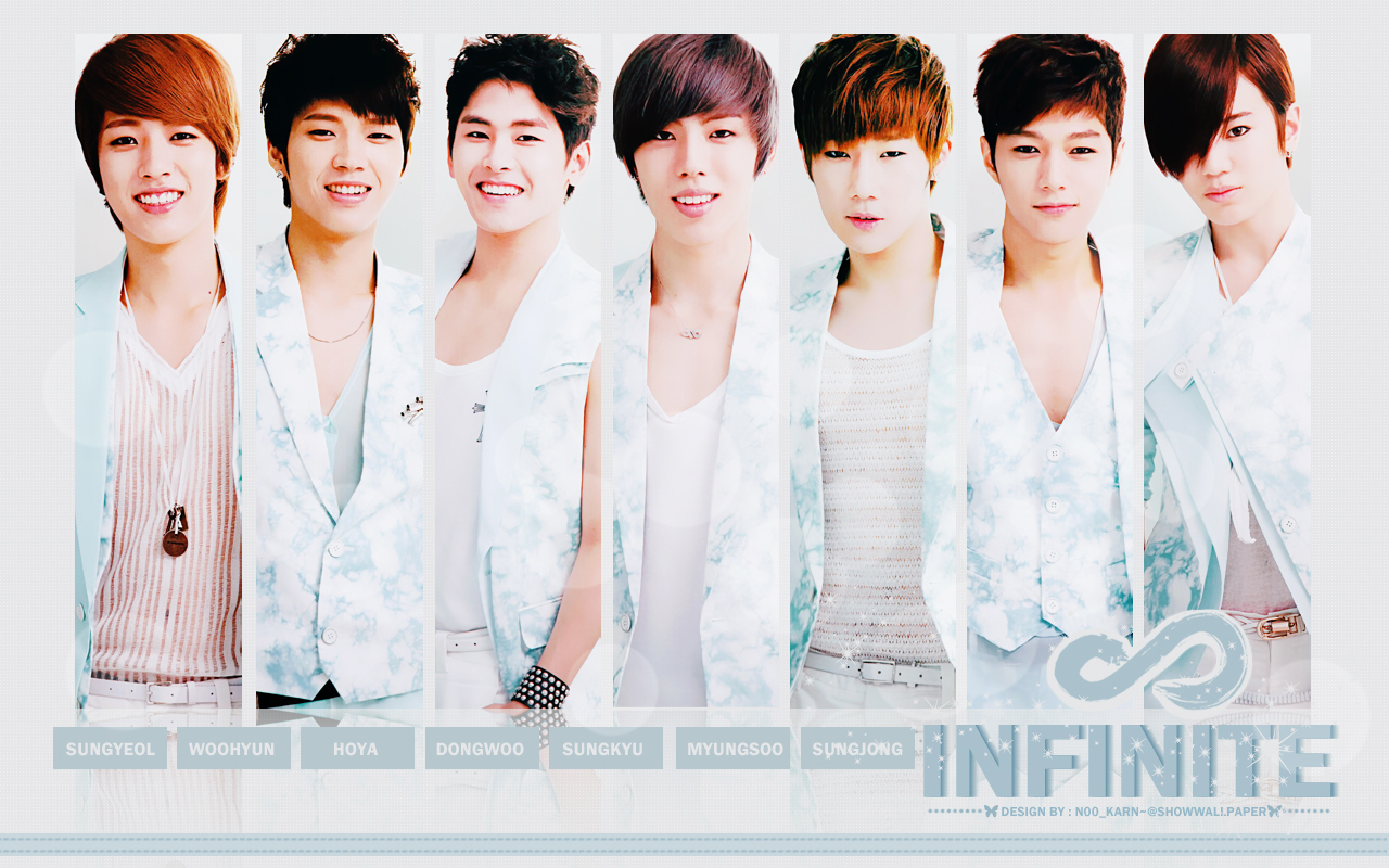 infinite infinite wallpaper 33674586 fanpop