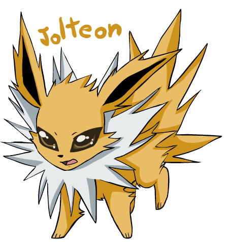 Eevee Evolutions Clan hình nền with anime entitled jolteon