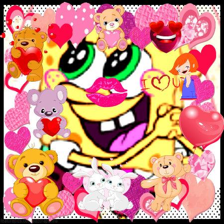 tình yêu sponge