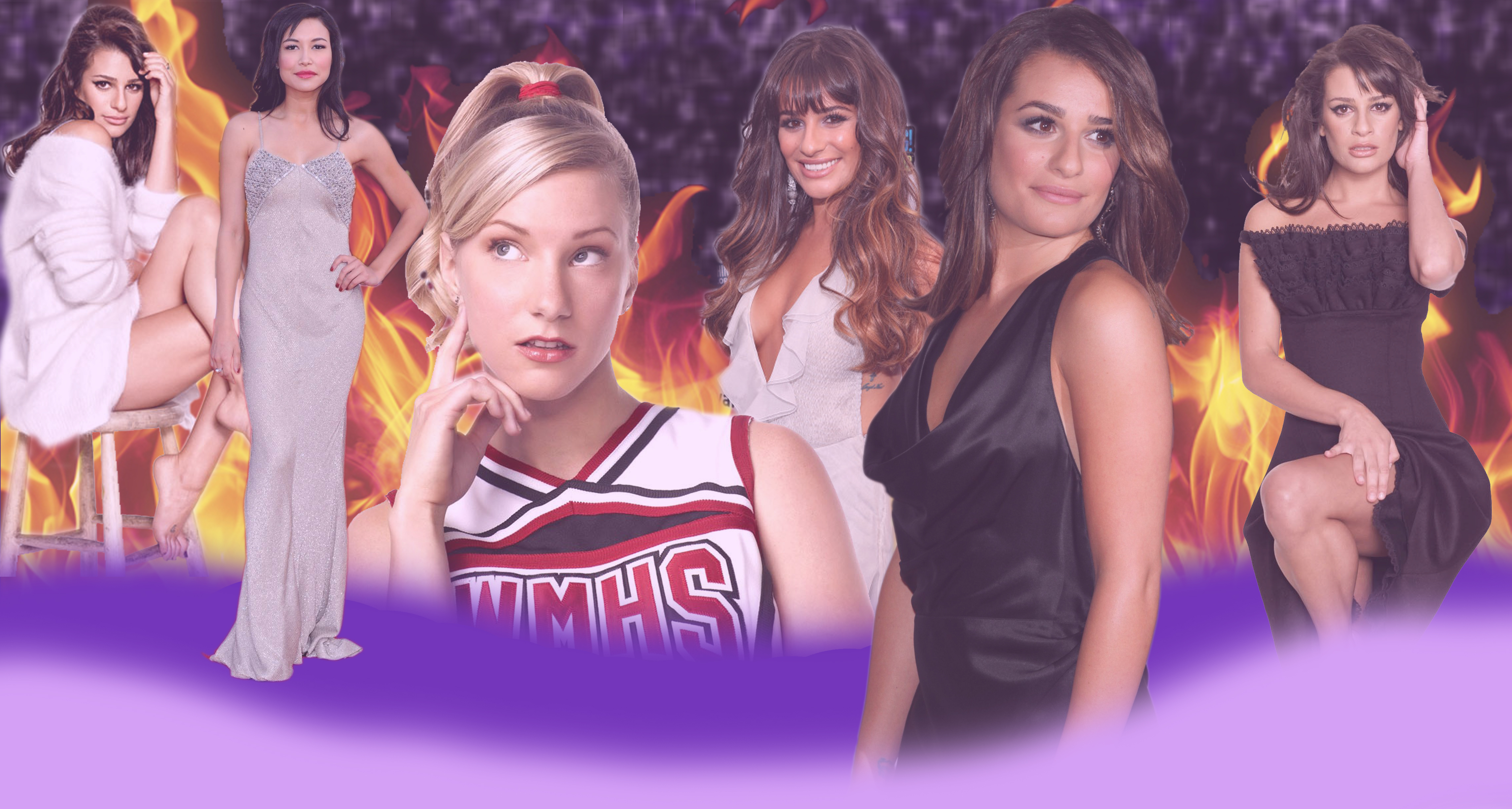 michele 4 Heather 1 Naya 1