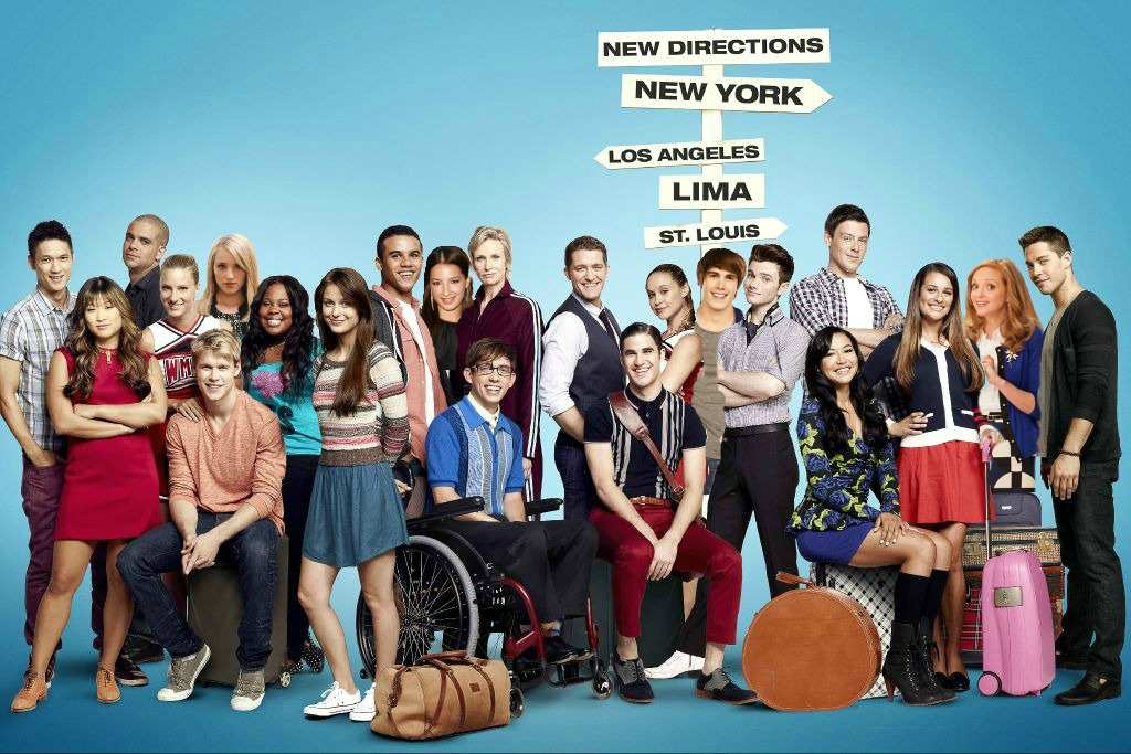 my Glee season 4 poster
