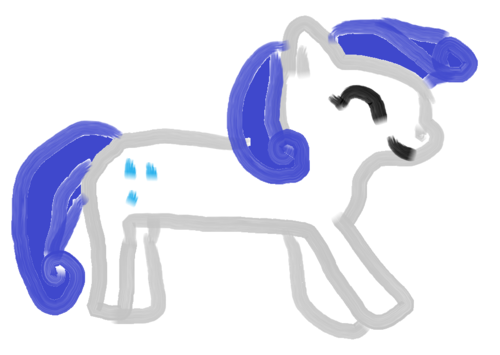 my painting of rarity!