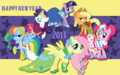 new year - my-little-pony-friendship-is-magic wallpaper