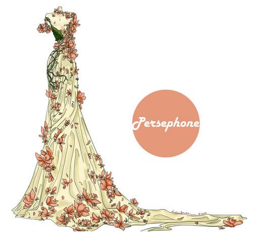 persephone's dress