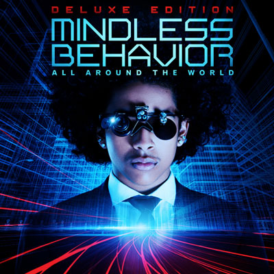 picture of princeton on the cover of da album around the world