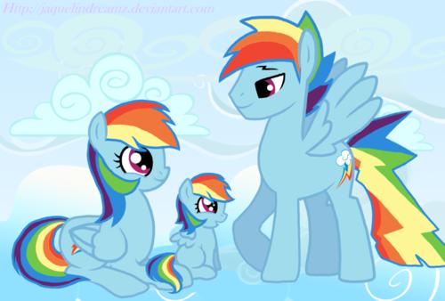 彩虹 family