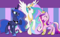 ruling alicorns - my-little-pony-friendship-is-magic wallpaper