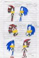 shadow's new haircolor - sonic-the-hedgehog fan art