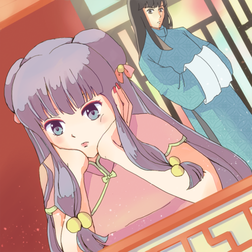 "shampoo and mousse (ranma 1/2) ""possibly madami than friends"""