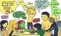 strip poker - young-justice fan art
