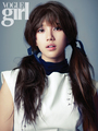 suzy miss A vogue girl mag november