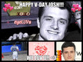 the vday of a life time: ) <3 - josh-hutcherson fan art