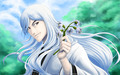 *Ukitake* - bleach-anime wallpaper