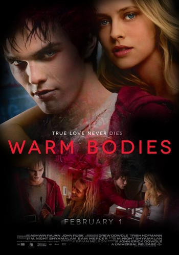 Warm Bodies Movie Обои with a portrait titled warm bodies