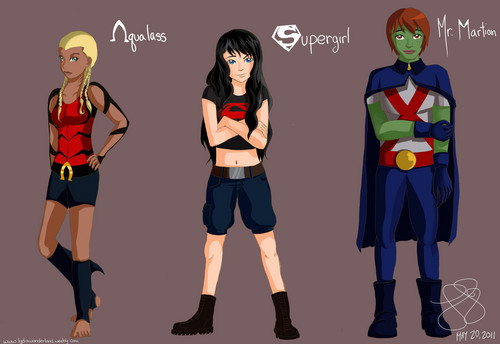 Young Justice wallpaper entitled young justice genderbend 2