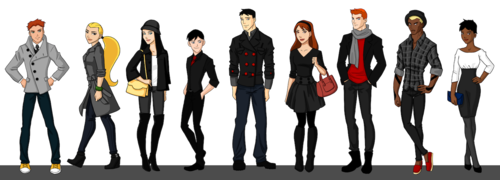 Young Justice Hintergrund entitled young justice