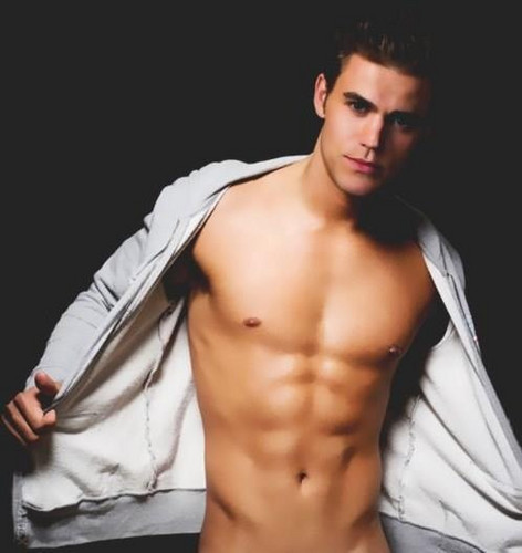 Stefan Salvatore wallpaper containing a six pack and a naco, pedaço, hunk titled <3