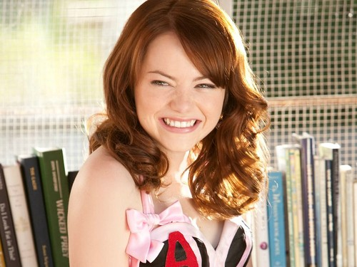 Easy A wallpaper containing a portrait titled 'Easy A' Wallpaper