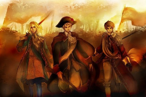~France, Spain, and Prussia~