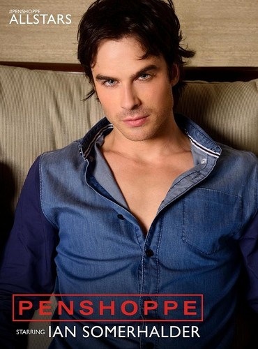 Ingrid's Graceland kertas dinding probably containing a portrait entitled ♥ Ian Somerhalder - Penshoppe Photoshoot ♥