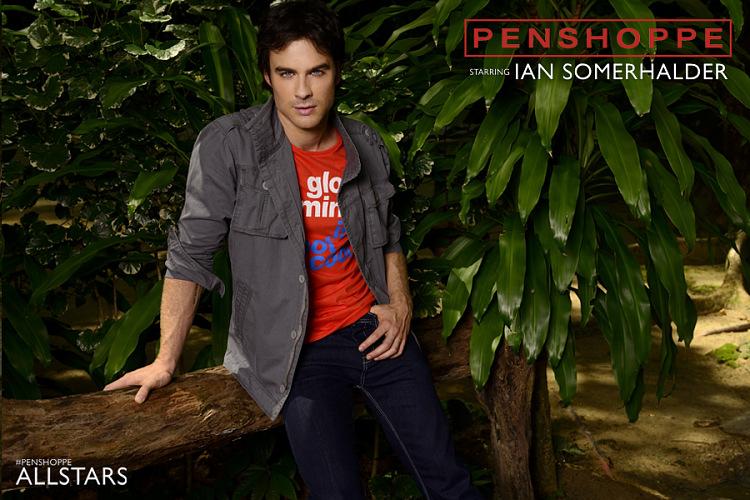 ♥ Ian Somerhalder - Penshoppe Photoshoot ♥