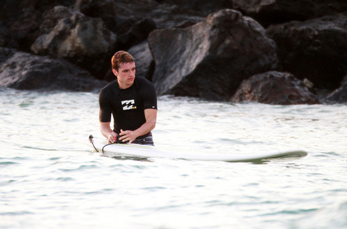 Josh surfing in Hawaii 2.27